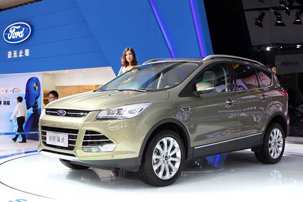 Top 10 best-selling SUVs in Chinese mainland in 2014