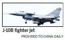 New fighter jet appears ready for PLA