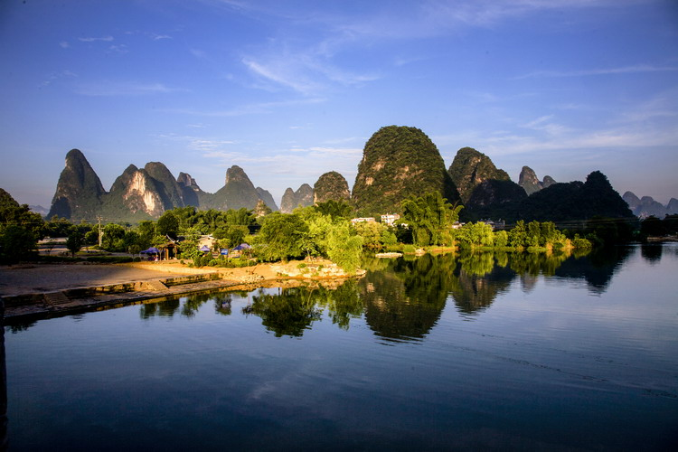 Yangshuo, a county of karst landforms