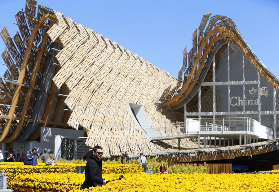 China pavilion opens at Expo Milano 2015