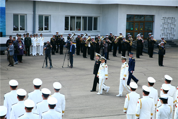 China and Russia pave way for naval exercise