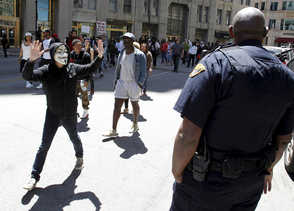 Cleveland police say 71 people arrested overnight in protests