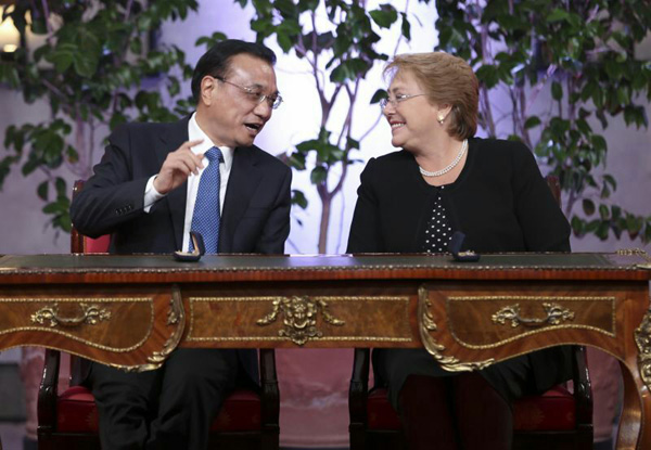 China, Chile ink multi-billion-USD currency swap deal