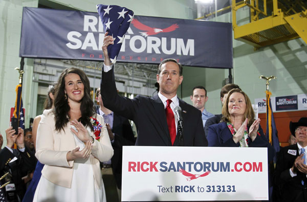 Rick Santorum announces second White House run