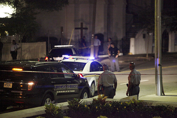 Gunman kills nine people in South Carolina church shooting