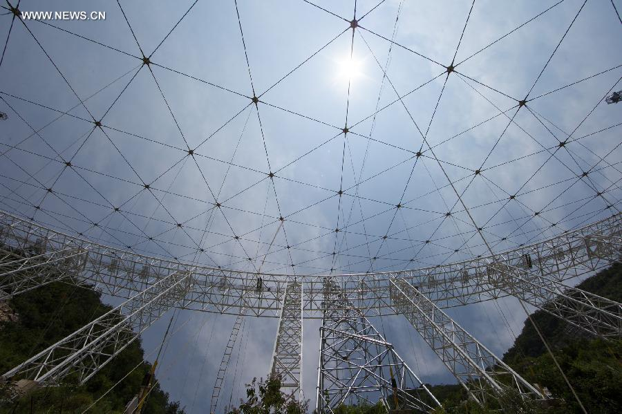 World's largest radio telescope being built