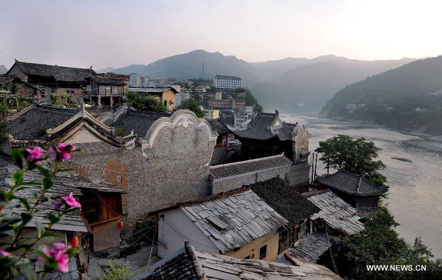 Shuhe ancient town in NW China's Shaanxi