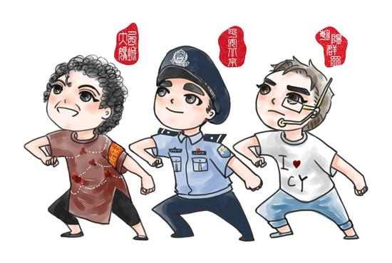 Beijing police publishes cartoon images of residents who tip off police