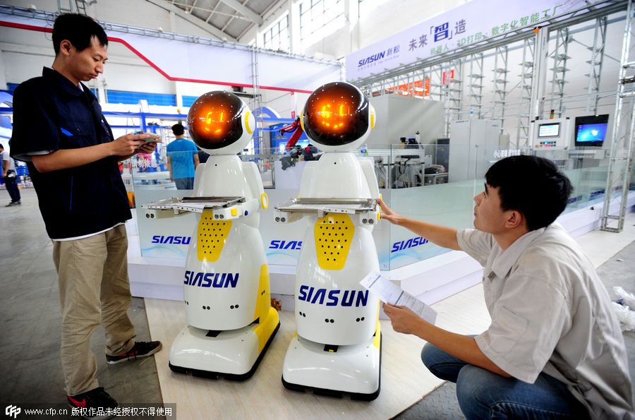 Robotic exhibition set to kick off in Shenyang