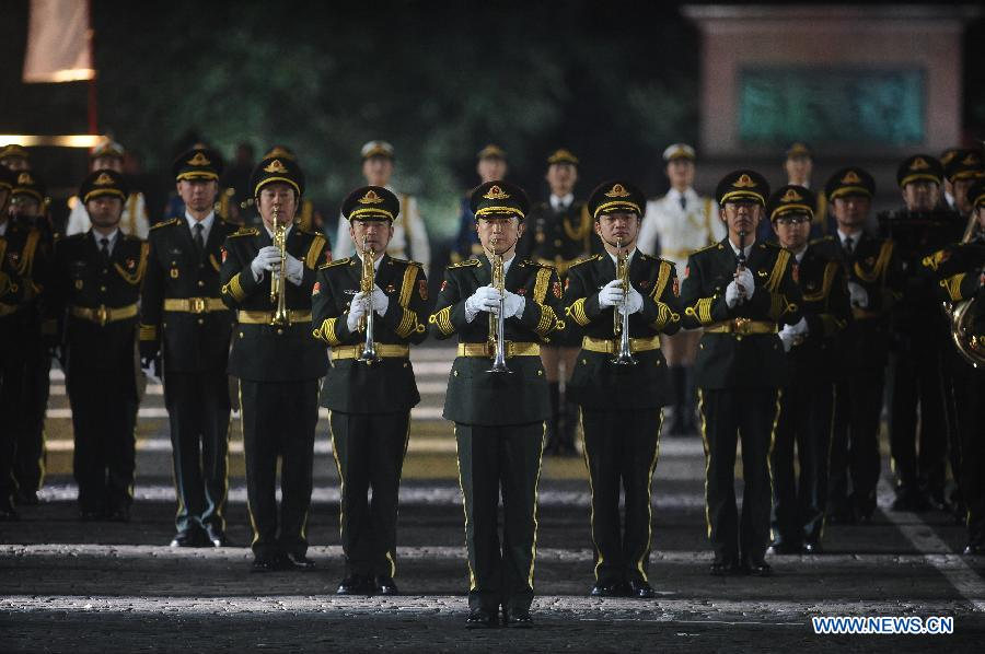 8th Int'l Military Music Festival 'Spasskaya Tower' kicks off