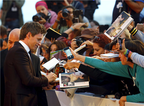 Stars walk the red carpet at the 72nd Venice Film Festival
