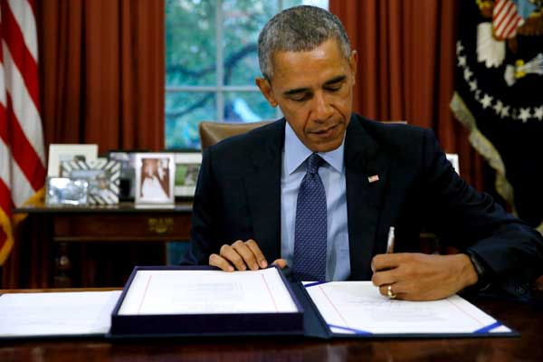 Obama signs two-year budget bill