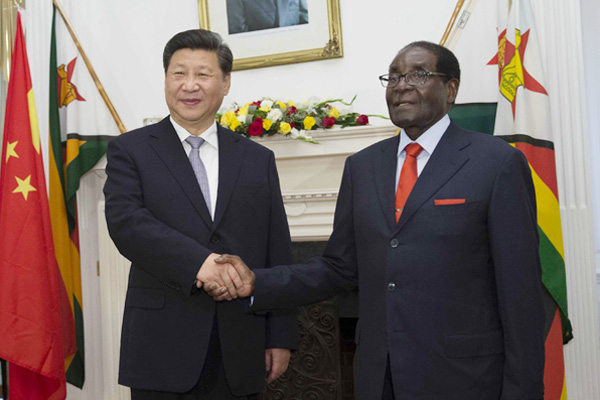 China, Zimbabwe agree to boost cooperation for common development