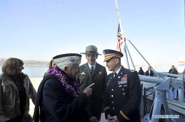 US marks 74th anniversary of Pearl Harbor attacks