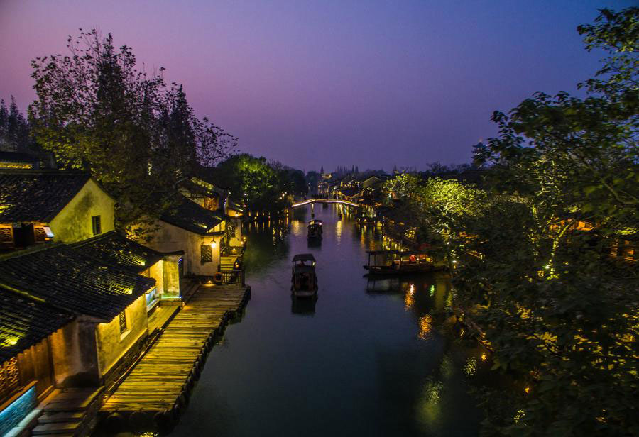 World Internet Conference host Wuzhen: Charming water town