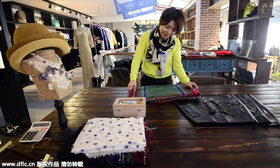 Fashion buyer scours the world for trendy items