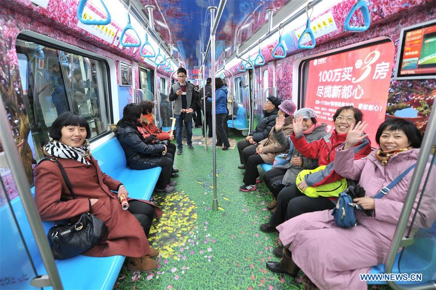 East China province gets 1st subway line