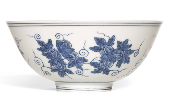 Finest Chinese porcelains expected to fetch over $28 million