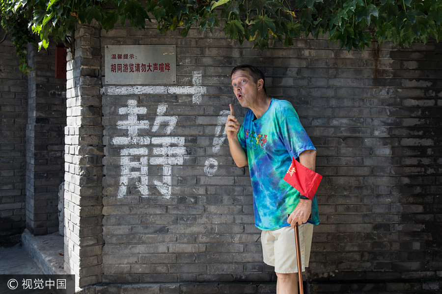 American in Beijing lives his Chinese dream