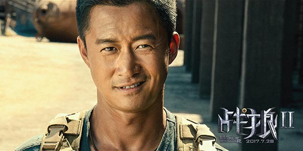 'Wolf Warrior 2' flies flag for China in Oscar bid
