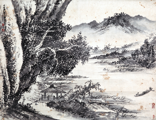 Deep affection for Huangshan Mountain: Veteran artist's 101 works go on display