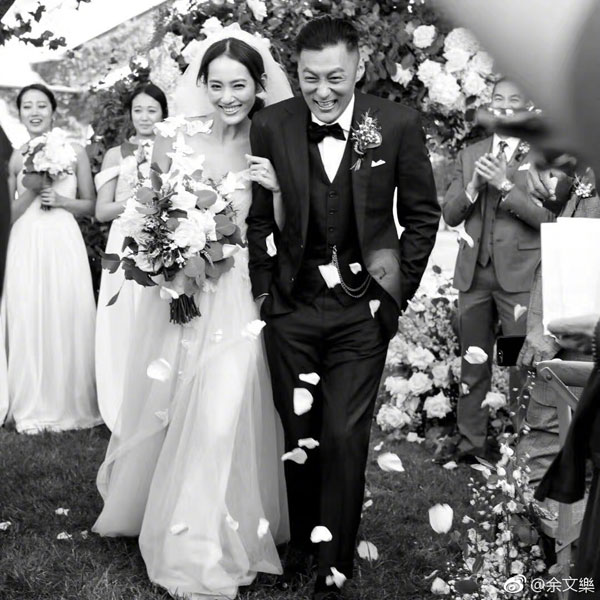 Hong Kong actor Shawn Yue announces surprise wedding