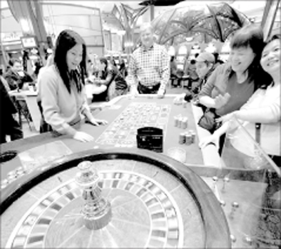 Chinese gamblers fill American casinos