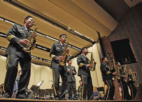 Joint concerts a rousing success for PLA, US Army bands