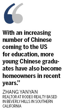 Chinese buyers lining up for US homes