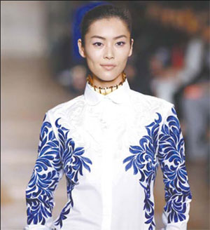 Supermodel Liu feels at home as a 'tomboy'