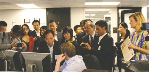 Chinese state firms' PR specialists visit US for image-building insights