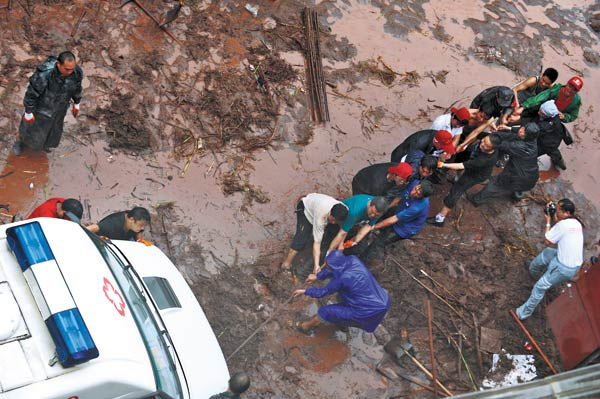 Heavy rains bring more pain to Yunnan