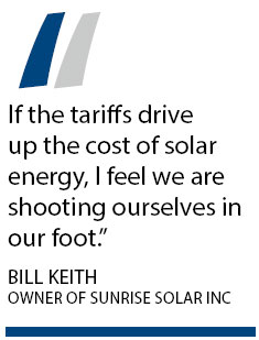 Solar tariffs could harm US firms, too