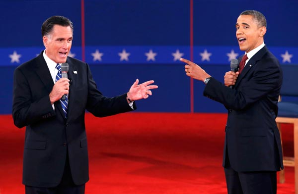 Obama and Romney indulge in debatable accusations