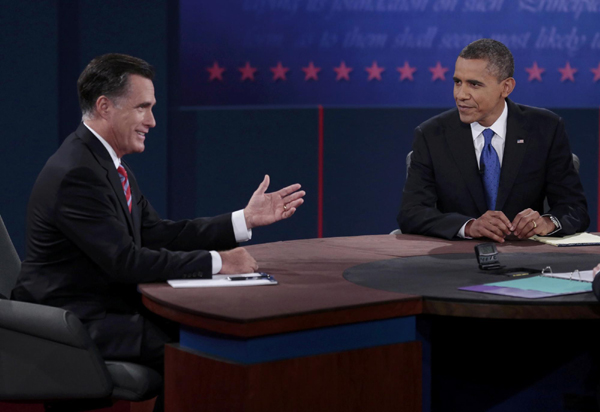 Obama, Romney kick off foreign policy debate