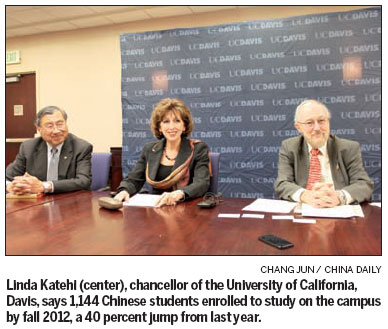 UC leader bolsters academic ties to China