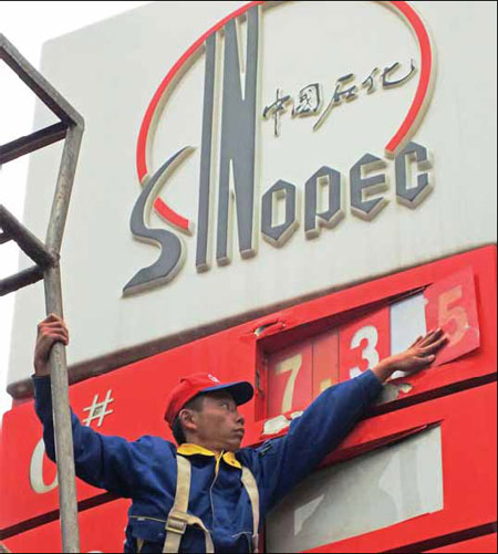 Sinopec buys $1b oil stake