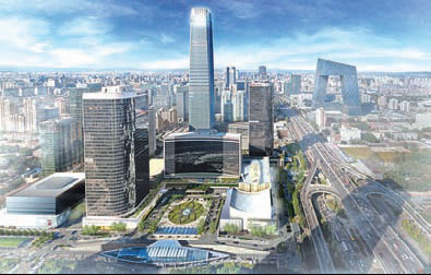 LA firm hired to design next-stage extension of Beijing complex