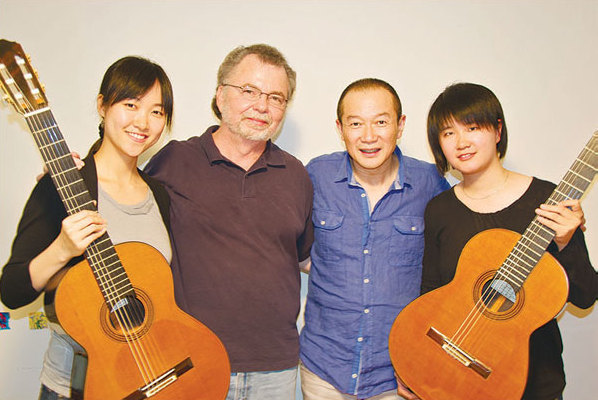 Guitarists give Chinese music unexpected treatment
