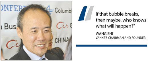 Housing: Will the roof blow off?