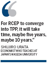 Rival trade pacts could converge