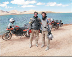 Canadian motorcycle adventure series seeks airtime in US