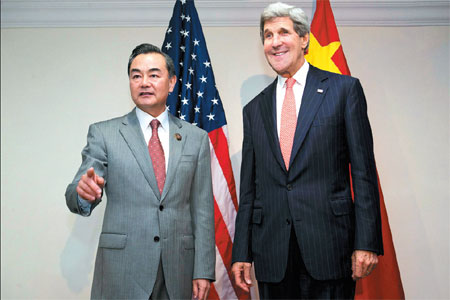 Kerry hails China's denuclearization bid