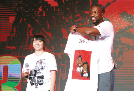 NBA's Dwyane Wade signs with Li Ning