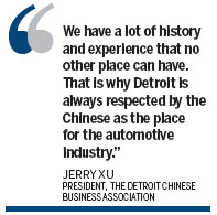 Detroit: A magnet for China's auto industry
