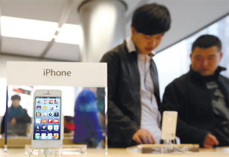 Apple iPhone slips in rank
