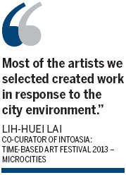 Art exhibition tackles Asian urban angst