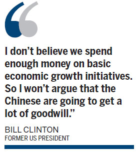 Clinton: US behind China in Africa