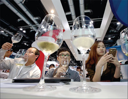 Is China really ready for Napa's higher-end wines?