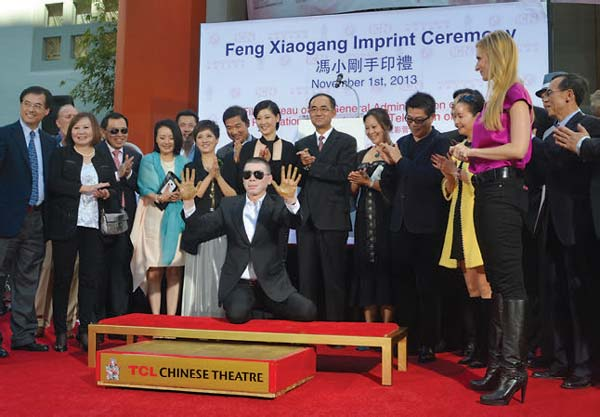 Movie director Feng leaves a lasting impression in Hollywood